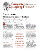 American Country Doctor December 2009