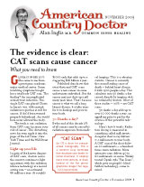 American Country Doctor November 2009