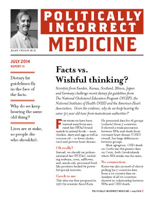 Politically Incorrect Medicine July 2014