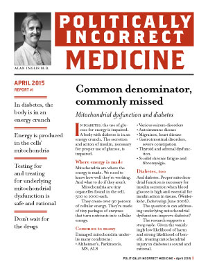 Politically Incorrect Medicine April 2015