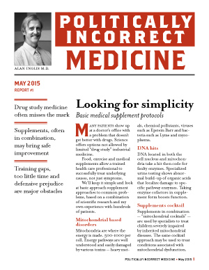 Politically Incorrect Medicine May 2015